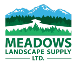 meadows landscape supply logo